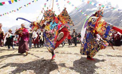 mask monk dance