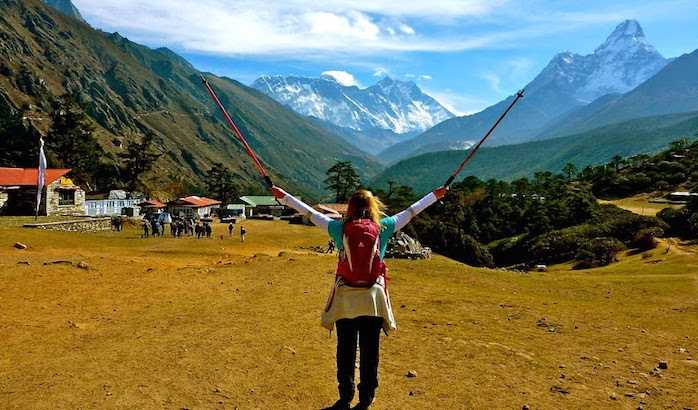Trekking in Nepal in October