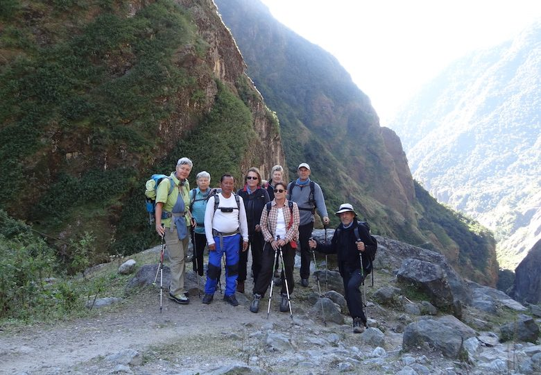 Sherpa Independent Trekking Guide in Nepal
